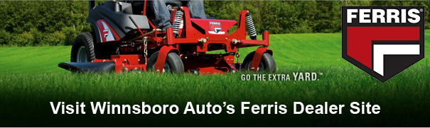 Go the Extra Yard - Visit Winnsboro Auto's Dealer Site