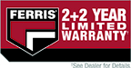 Ferris 2+2 year Limited Warranty