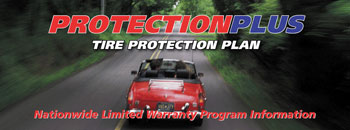 ProtectionPlus Tire Protection Plan - Nationwide Limited Warranty Program Information